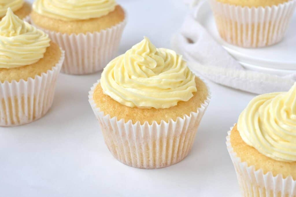 Cupcake with buttercream