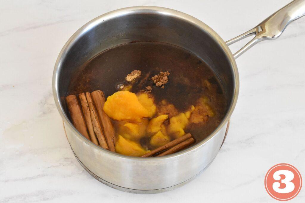 Pumpkin spice syrup ingredients